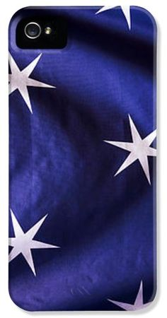 Washington's Flag iPhone and Galaxy Case by John Rizzuto