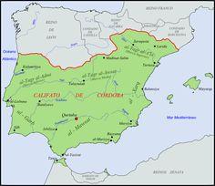 Los Reinos de Taifas 1031-1094 | La Historia con Mapas
