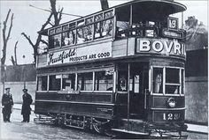 Glasnevin to Dolphins Barn, tram, Dublin. Closed 1939.