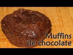 ▶ Muffins de chocolate Dukan - Receta Fase Crucero - YouTube