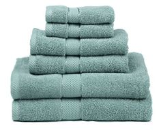 Ariv Collection Premium Bamboo Cotton 6 Piece Towel Set Bath Towels, 2 Hand Towels and 2 Washcloths) - Natural, Ultra Absorbent and Eco-Friendly (Coal) Best Bath Towels, Bath Towel Sets, Hand Towels, Look Good Feel Good, Cotton Towels, Kitchen And Bath, Washing Clothes, Eco Friendly, Bamboo