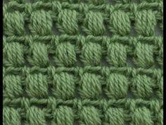 كروشيه شرح غرزه البف مع توضيح الفرق بينها وبين غرزه الكلاستر او العنقود buff stitch crochet - YouTube