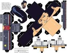 Load free pattern of Space Dandy from our web-site  #spacedandy #cubeecraft #dandy #QT #BBP #Meow
