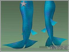 XM Sims2 free Sims 2 computer game fantasy fairy wing mermaid download
