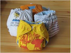 recycled t-shirt diapers
