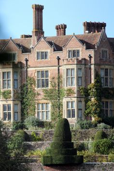 Chilham Castle, near Canterbury, Kent, England.  . The castle was once visited by Jane Austen for dinner and the village was recently used in the BBC production of Emma.