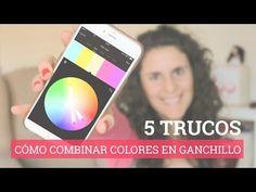 5 trucos: Cómo combinar colores en ganchillo | Bluü Vlog Youtube, Manta Crochet, Crochet Videos, Colours, Knitting, Granny Squares, Tips, Vape Tricks, Colors