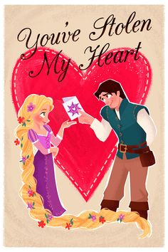 Disney Valentine's Day cards