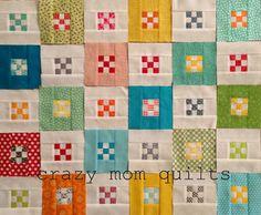 crazy mom quilts: work in progress---tutorial link