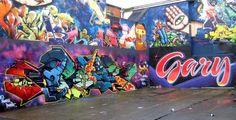 Graffiti wall Brighton (UK)