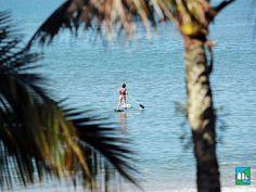 Um esporte muito divertido de praticar, e aí você curte Stand up paddle? :D #LugarDeSerFeliz →
