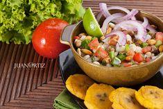 Fotografia de alimentos - Chocos - tostado - patacones - Food - Ecuador