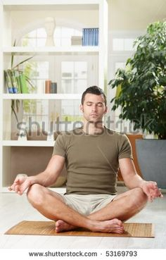 Find Man Doing Yoga Exercise Home Sitting stock images in HD and millions of other royalty-free stock photos, illustrations and vectors in the Shutterstock collection. Silva Method, Yoga Courses, Yoga For Men, Yoga Man, Ashtanga Yoga, Yoga Tips, Mindfulness Meditation, Strike A Pose, How To Do Yoga