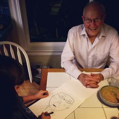 I LOVE this picture --- allow kids to take time to draw more (not afraid of mistakes)