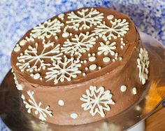 FULL RECIPE HERE: . Nothing says Christmas is almost here like a cup of eggnog! This holiday chocolate eggnog cake is like enjoying eggnog in cake form! I add eggnog into my Simple Vanilla Cake Frosting Recipe, Chocolate Buttercream Frosting, Frosting Recipes, Cake Recipes, Yummy Recipes, Holiday Cakes, Holiday Desserts, Holiday Baking, Holiday Recipes