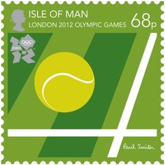 The Nice London 2012 Olympic stamps designed by PaulSmith.