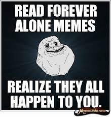 forever alone meme - Google-haku