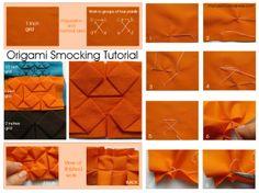 origami fabric manipulation tutorial