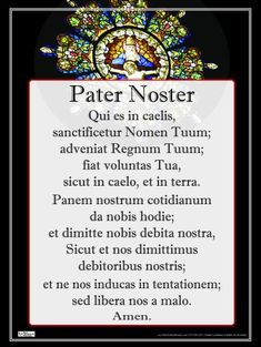 Latin: Pater Noster