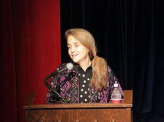 Naomi Shihab Nye, poet.