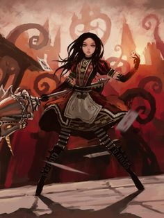 Alice return to madness/ Red Queen outfit