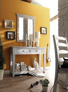 Odeus Anrichte Wandschrank T22  Landhausstil - Kiefer massiv weiß / white sanded - 9811-FW608T22