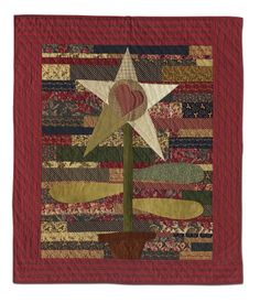 Montana Magesty by Tom Miner Quilts and Folk Art: Primitive Quilts and Projects Magazine, Spring 2013 issue