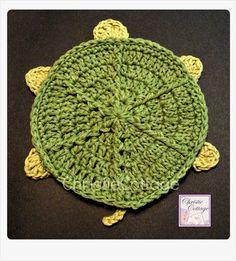 Turtle Bath Mitt Crocheted - Ready to Ship | @Christie Cottage - Children's on ArtFire #capsteam