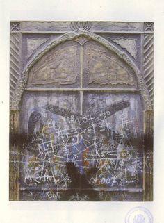 """""""Arte provo"""" exposición de Julián Pacheco en la galería de arte La Escalera Cuenca 1998 #LaEscalera #Cuenca #JulianPacheco"""