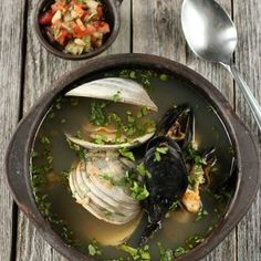 Empanadas de mariscos – Mi Diario de Cocina Restaurant Recipes, Food To Make, Side Dishes, Curry, Meat, Chicken, Vegetables, Ethnic Recipes, Tortilla