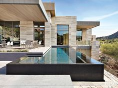 Plunge into these daringly beautiful infinity edge pools.