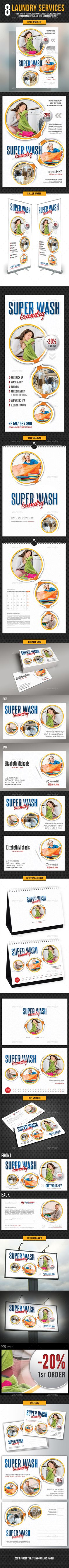 Dry Cleaners or Laundry Business Card | Pinterest | Laundry business ...