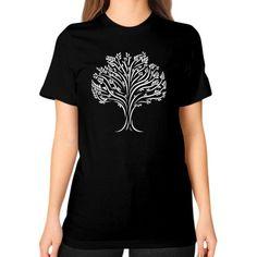 Epsilon Tree Unisex T-Shirt (on woman)