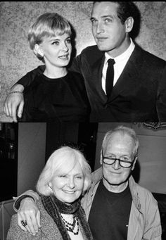 Paul Newman & Joanne Woodward -married for 50 years and 9 mos