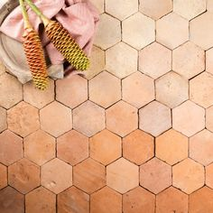 Emerging from the rolling hills of Eastern Europe, these terracotta tiles are softly blushed with the hues of their home's sun-kissed landscape. Each tile, having been repurposed by hand, is a remnant of a rich and vibrant history that exudes an unparalleled sense of individuality. Prepared into a refined range of five different shapes, Gather Co is the exclusive supplier of MALINA – Antique European Terracotta. Parquet Texture, Tile Steps, Family Images, Ceramic Pots, Terracotta, Repurposed, Sun Kissed, Eastern Europe, Tiles