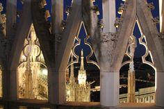 Buona serata dal #duomodimilano  Good #night from the #milancathedral