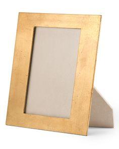 "Gold-Leaf Photo Frame, 5"" x 7"""