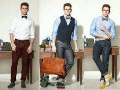 I definitely love it when guy dress like this!