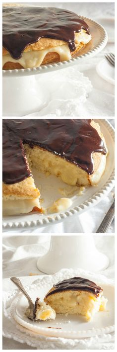 A detailed history of the Boston Cream Pie, including a delicious classic recipe from food historian Gil Marks. via @toriavey