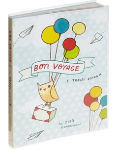 Bon Voyage travel journal. #journal #traveler