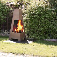 Terrazza fra Jøtul utepeis og grill