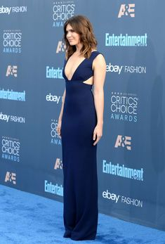Mandy Moore in Solace London Gown at Annual Critics' Choice Awards Critic Choice Awards, Critics Choice, Mandy Moore, Nice Dresses, Formal Dresses, Red Carpet Event, Celebrity Dresses, Gowns, Celebrities