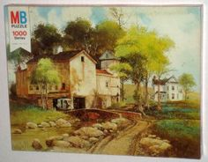 The Summer Months 1000 Piece Jigsaw Puzzle 1977 Rustic MB Milton Bradley 4778-4 SEALED $12