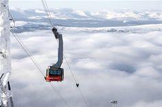 The popular ski resort Åre, the birthplace of Peak Performance