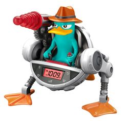 Phineas & Ferb Agent-P Snooze-inator Alarm Clock Hoover Set Alarm Clock, Alarm Clocks, Disney Agents, Perry The Platypus, Cctv Security Systems, Clock Display, Phineas And Ferb, Protecting Your Home, Electronic Toys