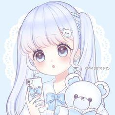 Manga Anime Girl, Cool Anime Girl, Anime Child, Anime Girl Drawings, Kawaii Drawings, Kawaii Anime Girl, Cute Drawings, Cute Anime Chibi, Cute Anime Pics