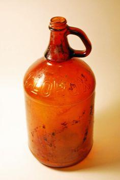 Vintage Clorox Glass Bottle         ****