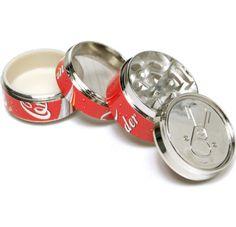 "Coke Pop CAN 2"" ,Super Mini tobacco Herb Grinder,4 Parts, - http://spicegrinder.biz/coke-pop-can-2-super-mini-tobacco-herb-grinder4-parts/"