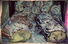 Marble Cakes & Cinnamon Rolls