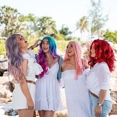 Bland? Never heard of her 💁♀️ __________________________________________________  #wigbox #lacefrontwigs #lacefrontal #hair #hairstyles #haircolor #purple #haircolour #colourfulhair #pinkhair #pink #red #rainbow #redhair #purplehair #rainbowhair #curlyhair #wavyhair #hairoftheday #wig #lacewigs #wigsaustralia #beautiful #dragwig #cosplaywig #hairgoals #hairinspo #wigboxfam #australia Lace Front Wigs, Lace Wigs, Purple Hair, Red Hair, Drag Wigs, Rainbow Hair, Bridesmaid Dresses, Wedding Dresses, Cosplay Wigs